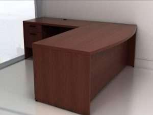 IOF Bow-Front Desks