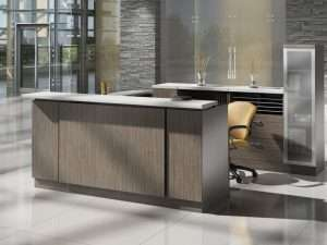 Zira Gallery Reception with Laminate Front